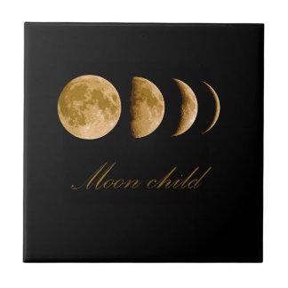 Azulejo Niño de luna