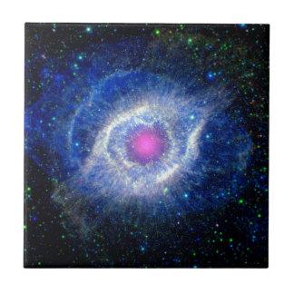 Azulejo Ojo ultravioleta de la nebulosa de la hélice de la