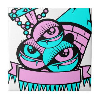 Azulejo ojo vampiro fun