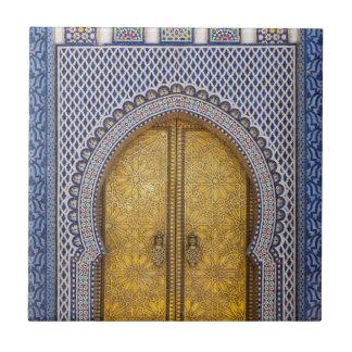 Azulejo Palace Ornate Doors de reyes