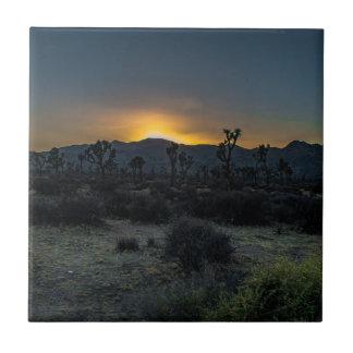 Azulejo Parque nacional de la yuca de la salida del sol