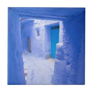 Azulejo Pasillo azul de la ciudad