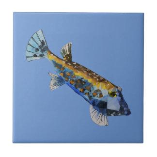 Azulejo Pescados geométricos