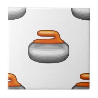 Azulejo Piedra que se encrespa de Emoji