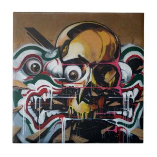 Azulejo Pintada del cráneo de Bangkok