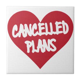 Azulejo Planes cancelados