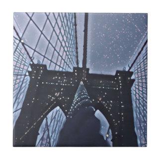 Azulejo Puente de Brooklyn - NYC