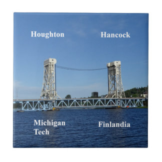 Azulejo Puente de elevación del lago Portage