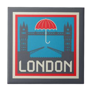 Azulejo Puente de Londres con el paraguas