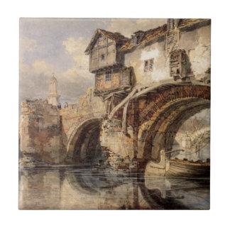 Azulejo Puente Galés en Shrewsbury de Guillermo Turner