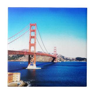 Azulejo Puente Golden Gate California de San Francisco