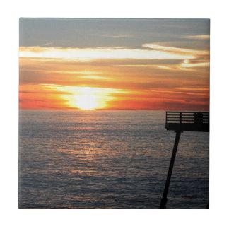 Azulejo Puesta del sol