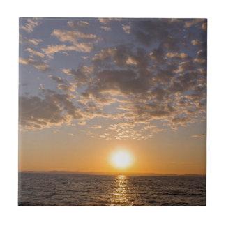 Azulejo Puesta del sol de Baikal