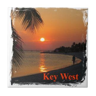 Azulejo Puesta del sol de Key West