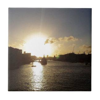 Azulejo Puesta del sol de Londres