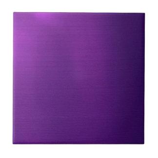 Azulejo Púrpura real metálica