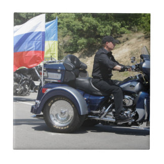 Azulejo ¡Putin monta un Trike!