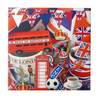 Azulejo Recuerdos británicos