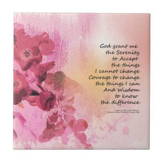 Azulejo Rosa de la cerca 3 del membrillo del rezo de la