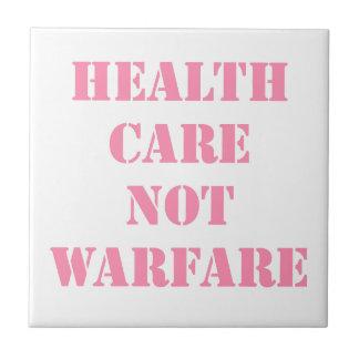 Azulejo Rosa de la guerra de la atención sanitaria no