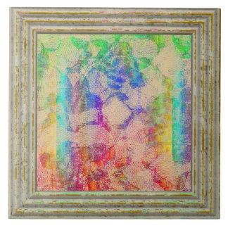 Azulejo Rosas del cordón de Fluoro