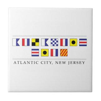 Azulejo Saludos de Atlantic City