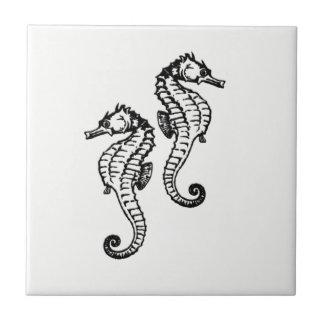 Azulejo Seahorse