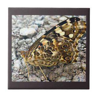 Azulejo Señora pintada Butterfly