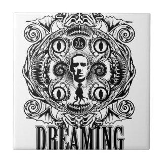 Azulejo Sueños de Lovecraftian