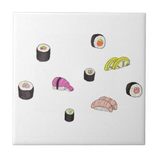 Azulejo Sushi y Sashimi