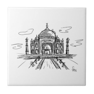 Azulejo Taj Mahal