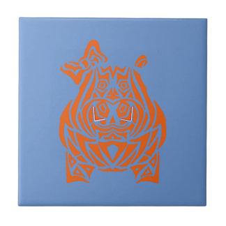 Azulejo Tatuajes tribales exquisitamente juguetones
