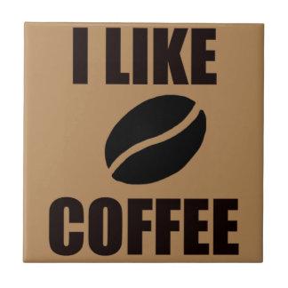 Azulejo Tengo gusto del café