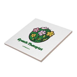 Azulejo Terapeuta de discurso Blooms2