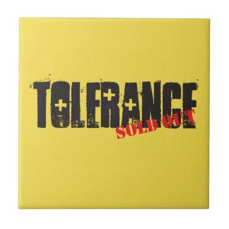 Azulejo Tolerancia vendida hacia fuera