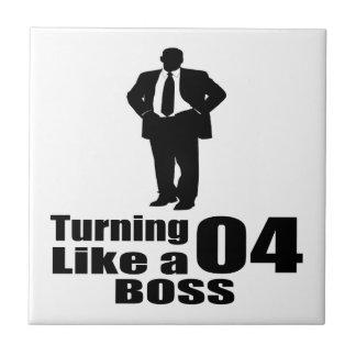 Azulejo Torneado de 04 como Boss