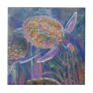 Azulejo Tortugas de mar místicas