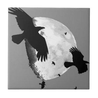 Azulejo Un asesinato de cuervos y de la luna