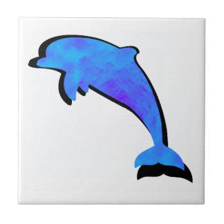 Azulejo Un cuento de los delfínes
