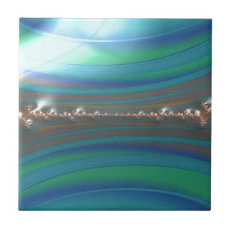 Azulejo un fractal más vivaz de la hiedra