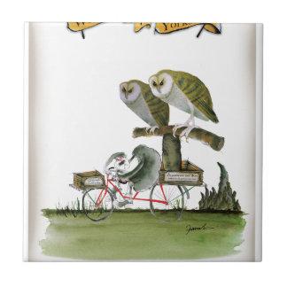 Azulejo unidad hostil del roedor de Yorkshire del amor