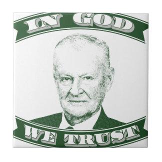 Azulejo Zbigniew Brzezinski en dios que confiamos en