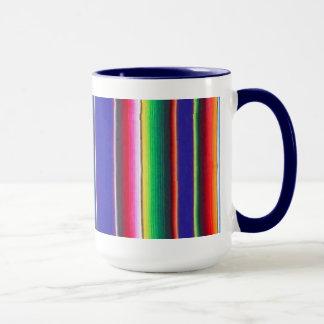 Azules añiles combinados mexicanos de la taza