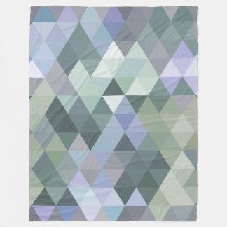Azules de niebla de la mañana de los triángulos manta polar