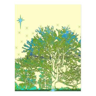 Azules del árbol postal