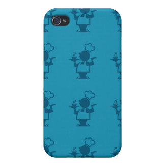 azules del cocinero iPhone 4/4S carcasa