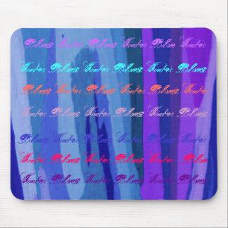 Azules del invierno I Mousepad - personalizable Tapete De Ratón