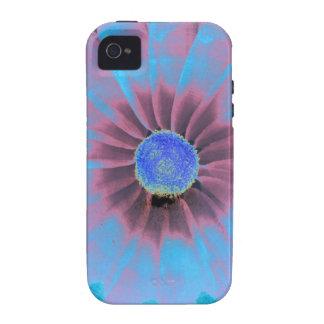 Azules Vibe iPhone 4 Carcasas