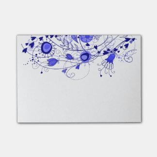 Azules marinos caprichosos - cuaderno de notas del