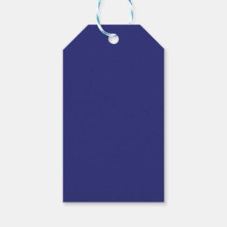 Azules marinos etiquetas para regalos
